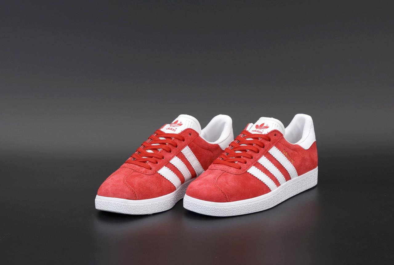 Жіночі червоні Кросівки Adidas Gazelle