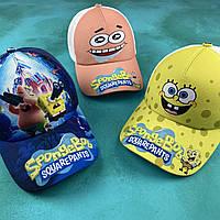 """Детская кепка c сеткой Губка Боб """"Sponge Bob"""""""