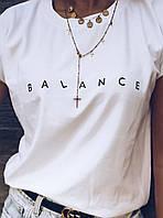 Футболка женская баланс 32555