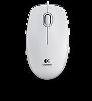 Мышь проводная Logitech M100 White (код 268765)