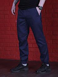 Штаны карго синие