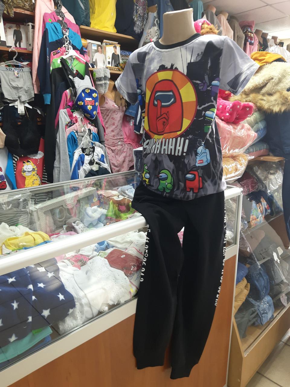 Спортивні штани для хлопчика з кишенями Підліткові р. 134 - 152
