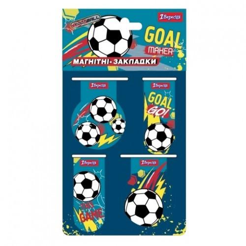 Закладки 1 сентября 707393 магнитные для книг Team football (1)