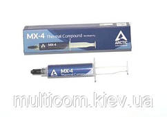15-00-073. Термопаста Arctic MX-4, теплопроводность 8.5 Вт/мК, шприц 8г, new packaging