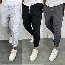 Базовые штаны спортивные мужские черные серые
