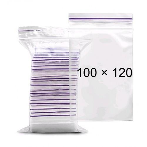 Пакет-струна з замком  Zip-Lock100*120 мм  100шт (1)