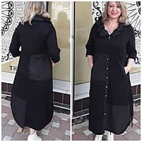 Шикарне плаття в чорному кольорі, укр розм 52 54 56