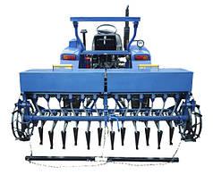 Сеялка зерновая для минитрактора 12-ти рядная СЗ-2