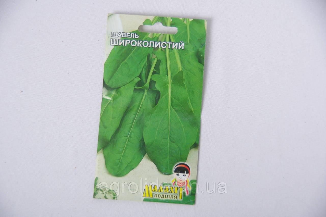 Семена Щавель Широколистый 2г Зеленый (Малахiт Подiлля)