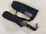 Мужской зонт с двойной тканью в клетку под куполом плуавтомат, фото 4