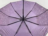 """Женский зонт полуавтомат с тефлоновой пропиткой купола """"антиветер"""" 9 спиц, фото 3"""