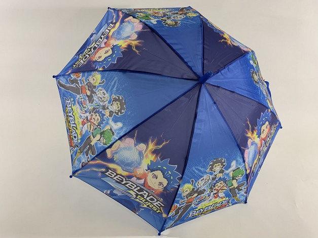 """Зонт трость для мальчиков  """"BEYBLADE""""  на 8 спиц"""