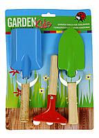 Набір садових інструментів для дітей (лопатка, граблі, совок) Play tive