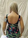 Пляжний купальник - сукня Танкіні 50-54 укр цветсиний, фото 3