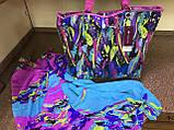 Яркий сарафан   парео трансформер в радужных оттенках, фото 4