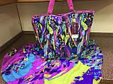 Яркий сарафан   парео трансформер в радужных оттенках, фото 6