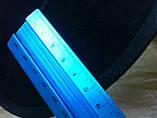 Фетровая мужская шляпа поля 5.8 см цвет оливковый 57-58 и черный, фото 7