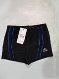 Мужские шорты купальные 48 цвет синий, фото 3
