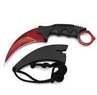Нож керамбит CS GO Counter Strike кровавый