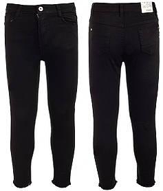 Классические черные джинсы на девочку