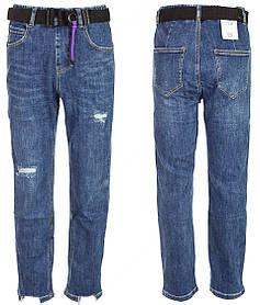 Ровные джинсы на девочку