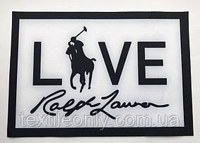 Нашивка Polo Ralph Lauren / поло ральф лорен 230х160 мм