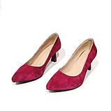 Туфлі-човник з підборами 6см, колір фуксія, в наявності розмір 38, фото 3