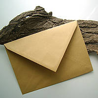 Поштовий дизайнерський конверт С5 МК, крафт, 80 гр/кв.м, 162 х 229 мм, від 1 шт, фото 1