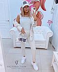 Женский комплект, турецкая двунить, р-р 42-44; 44-46 (меланж), фото 3