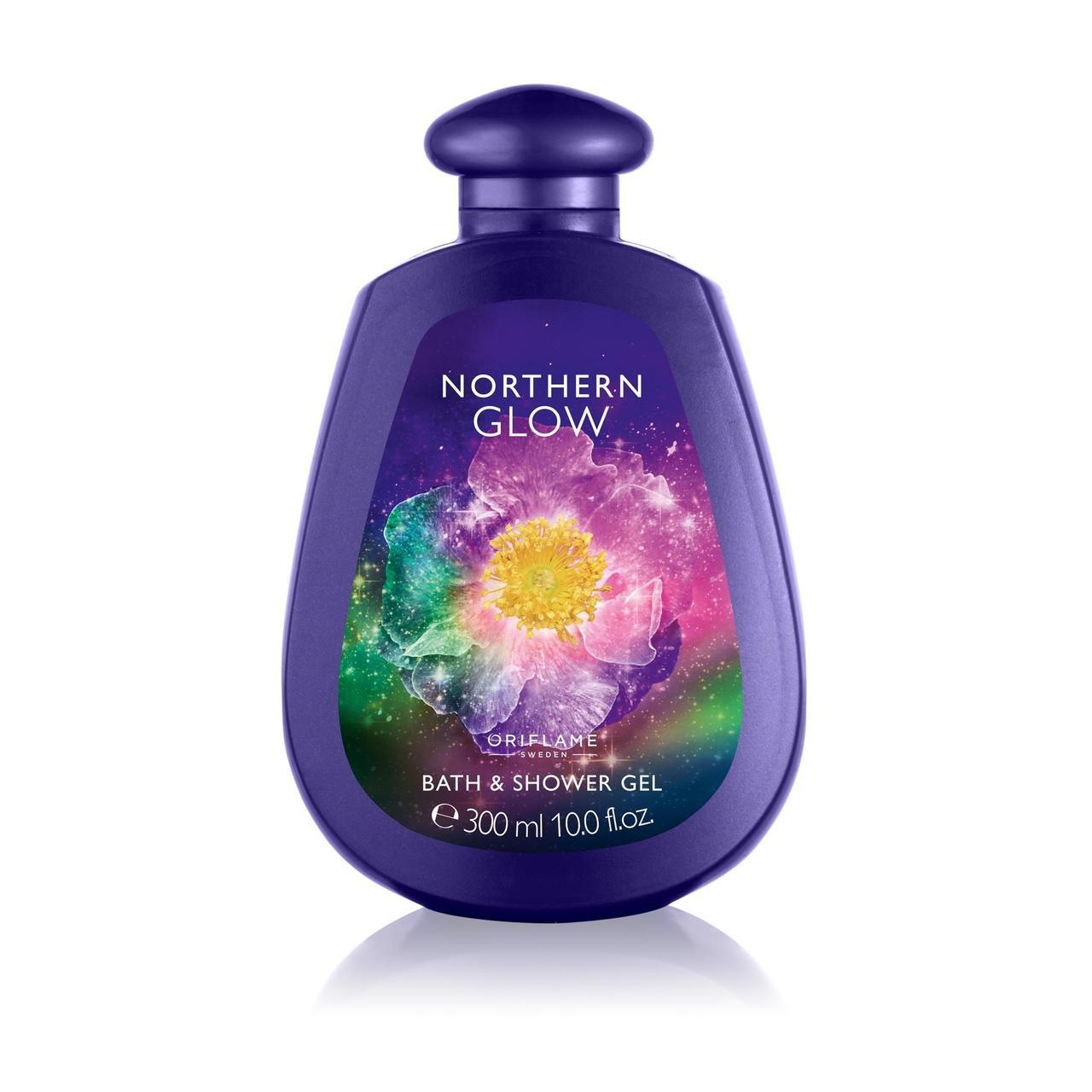 Пена для ванны и гель для душа 2 в 1 Northern Glow Oriflame