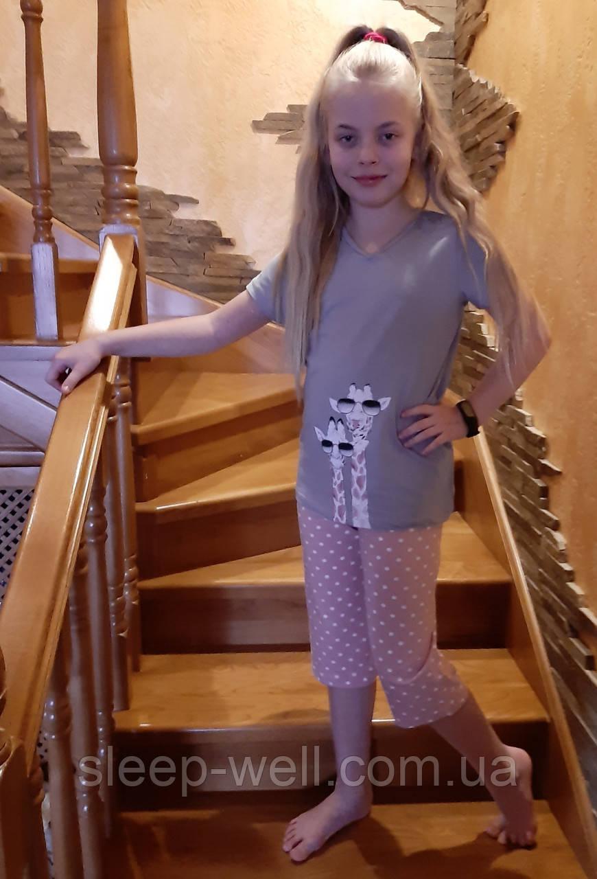 Дитячі піжами для дівчаток від 4-5 до 14 років