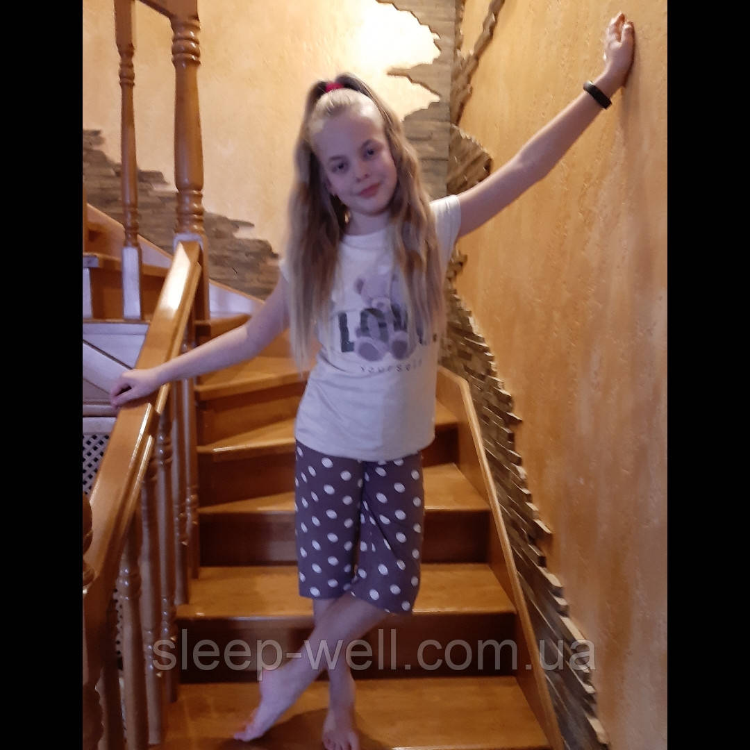 Детские пижамы для девочек від 4-5 до 14лет, Nikoletta