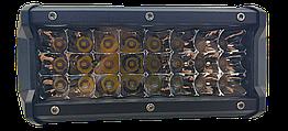 Фара LED прямоугольная 72W (24 диода) 165 mm