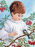 Наборы для вышивания крестом Матренин Посад Детство Будем друзьями, фото 2