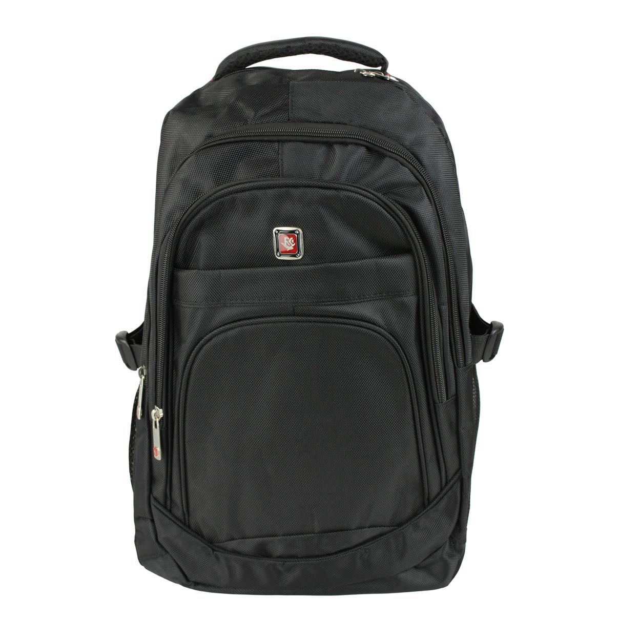 Рюкзак міський ділової тканинний Medium чорний (716884)