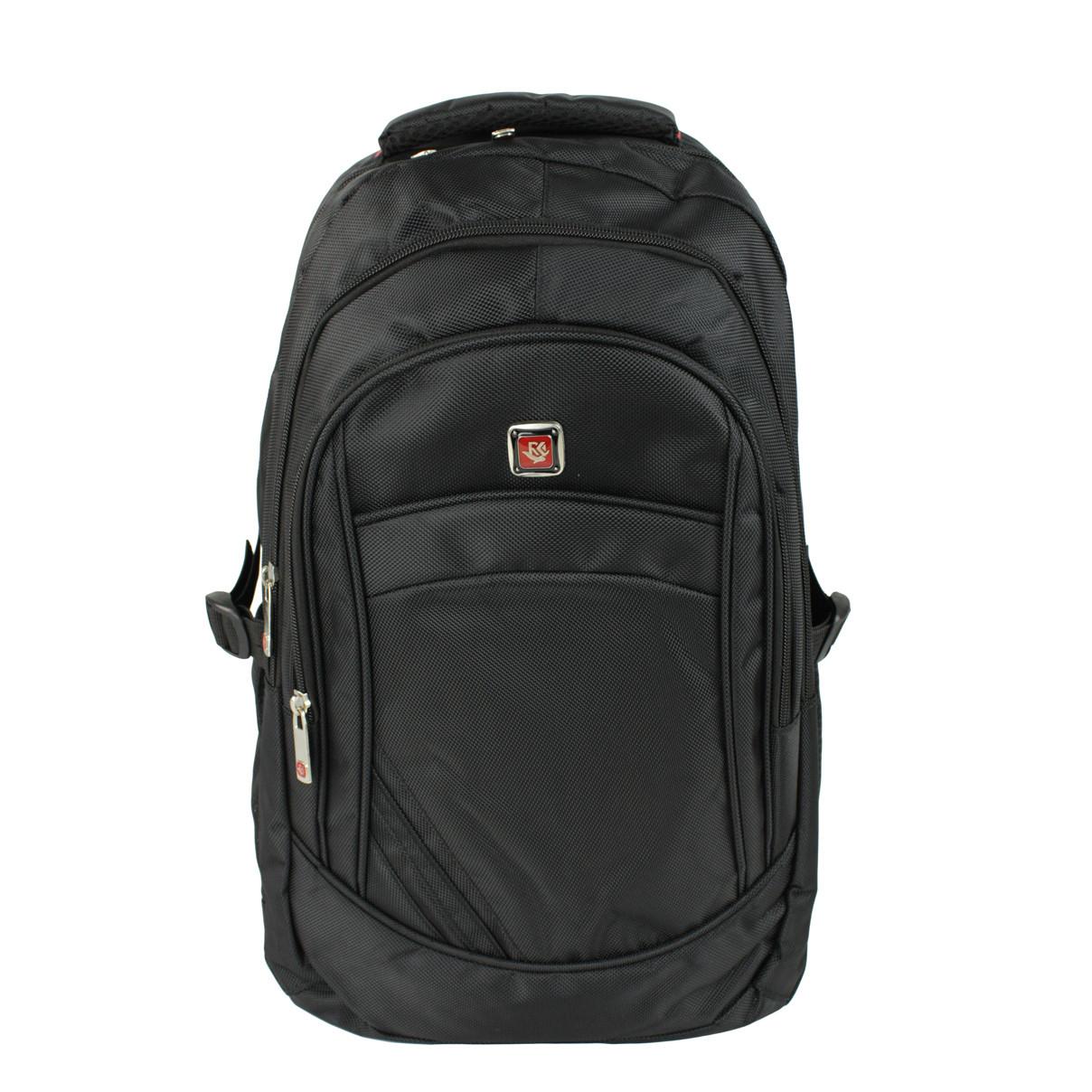Рюкзак городской молодежный тканевый Medium черный