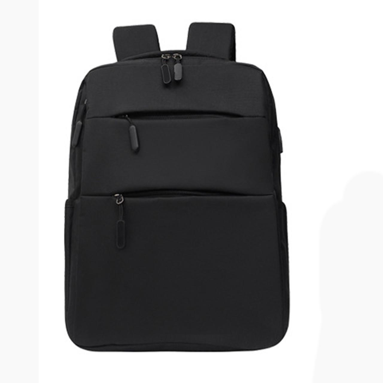 Рюкзак молодіжний Backpack чорний з USB