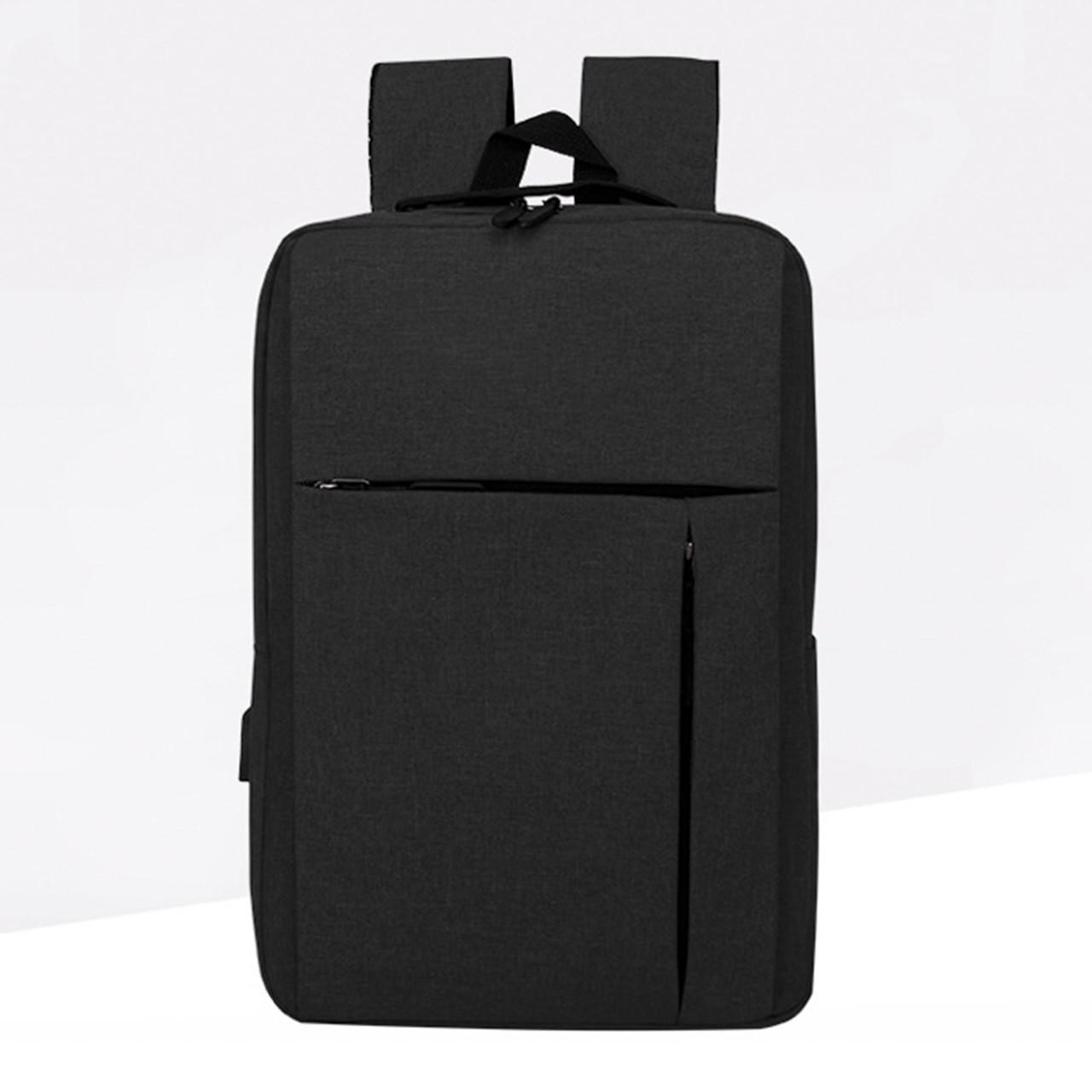 Рюкзак молодежный Display черный с USB