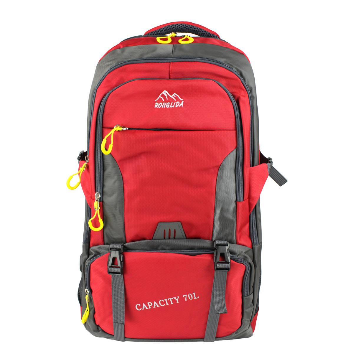 Рюкзак для походів Ronglida 70 л червоний (716878)