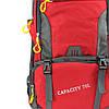 Рюкзак для походів Ronglida 70 л червоний (716878), фото 3
