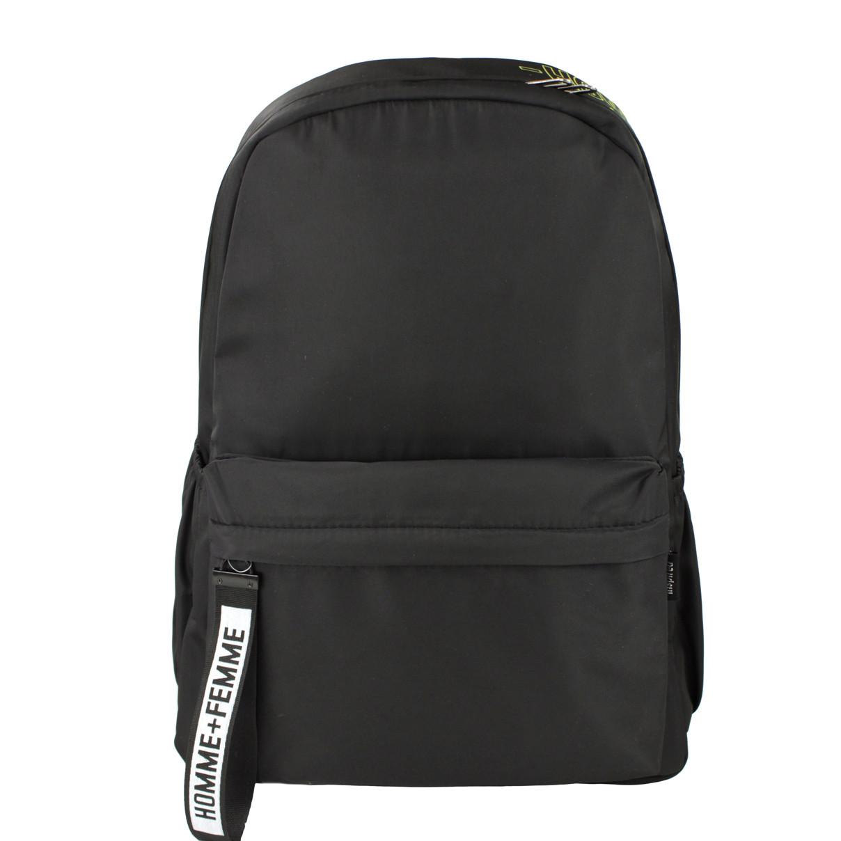 Рюкзак жіночий міський тканинний Femme чорний (716824)