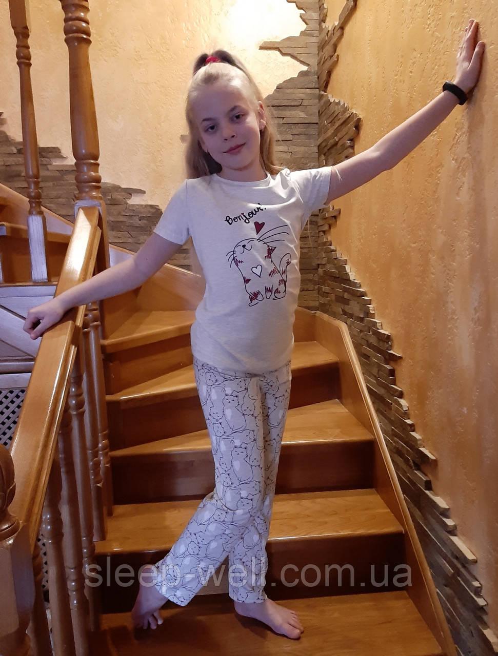 Детская пижама для девочек ,Nikoletta