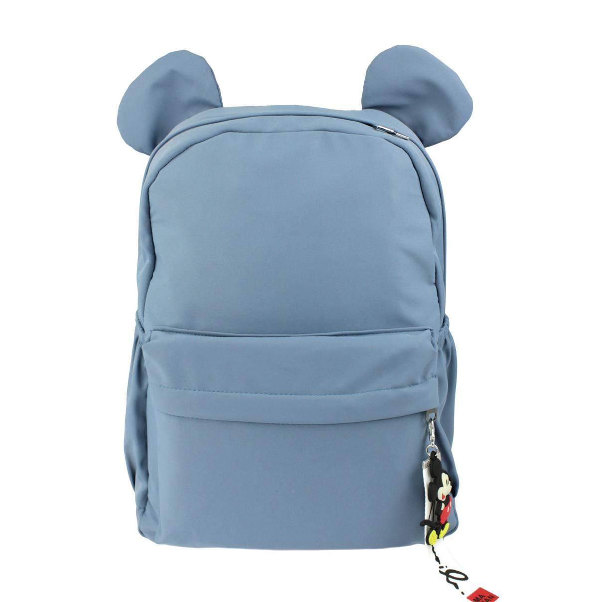 Рюкзак для дівчаток якісний Вушка блакитний (716834)