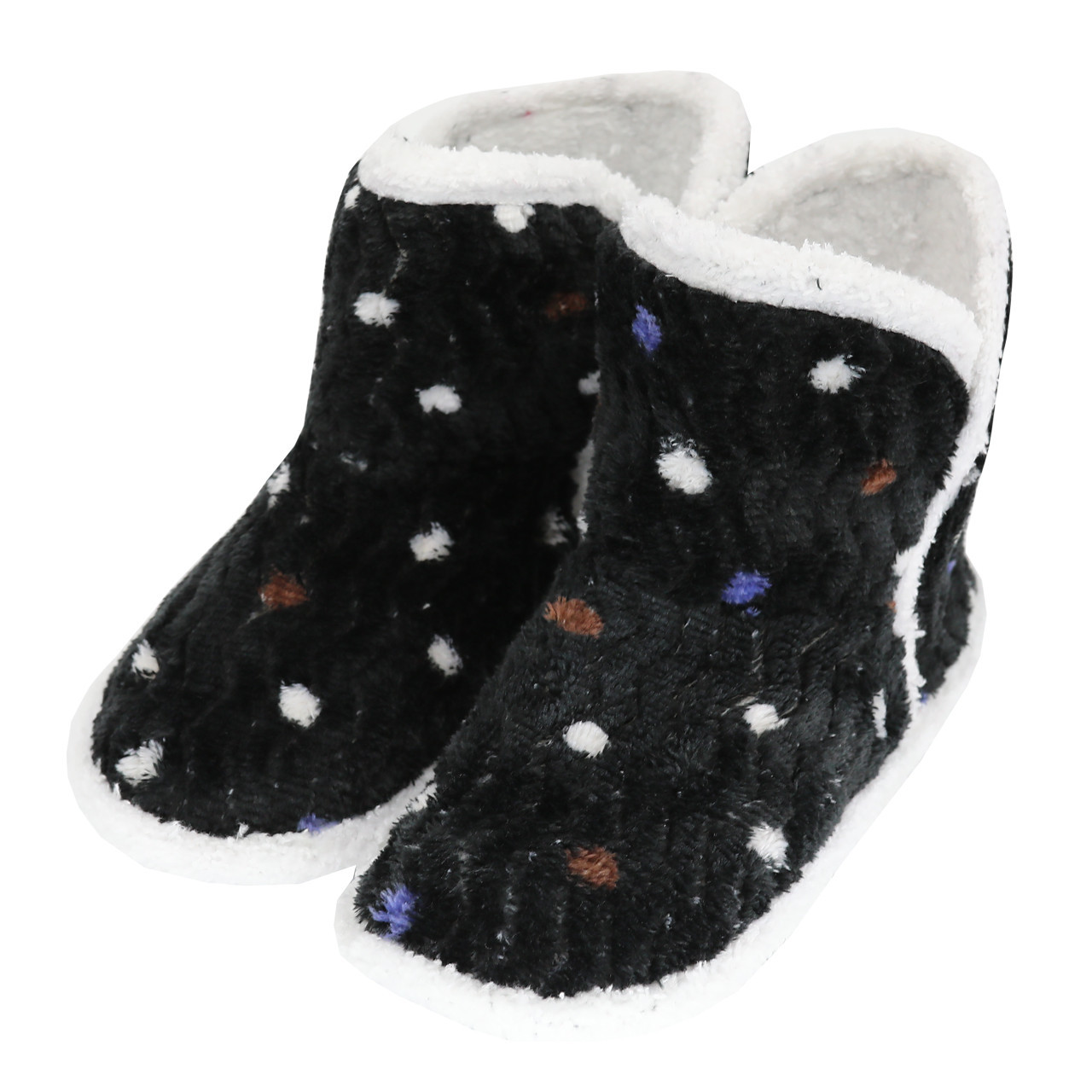 Тапочки, чобітки дитячі чорні на м'якій підошві р. 20-24