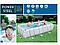 Каркасний басейн, 404 х 201 х 100 см, картріджний насос 2 006 л/год, дозатор, сходи, фото 5