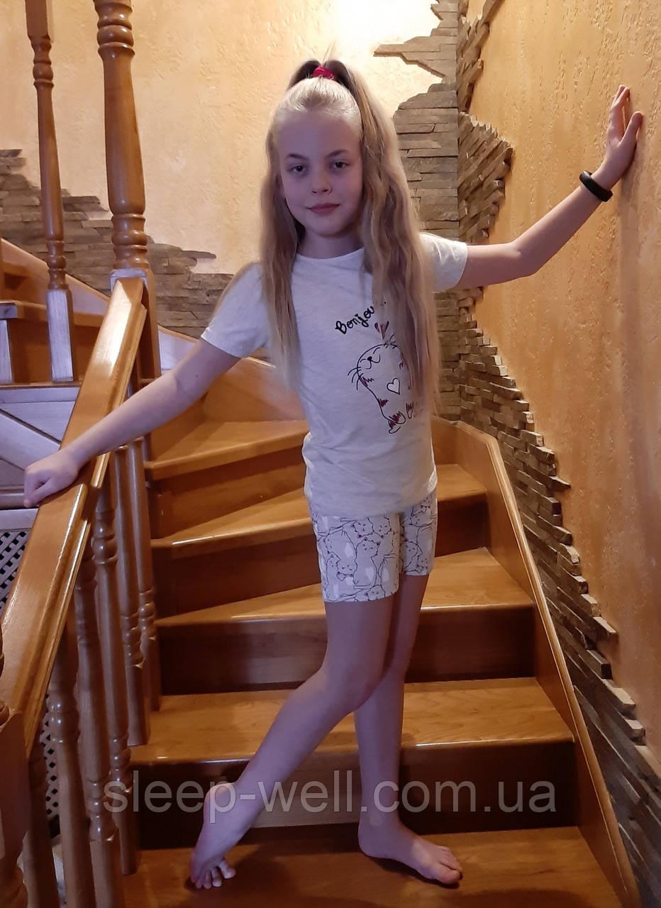 Пижамы с шортами детские,Sexen