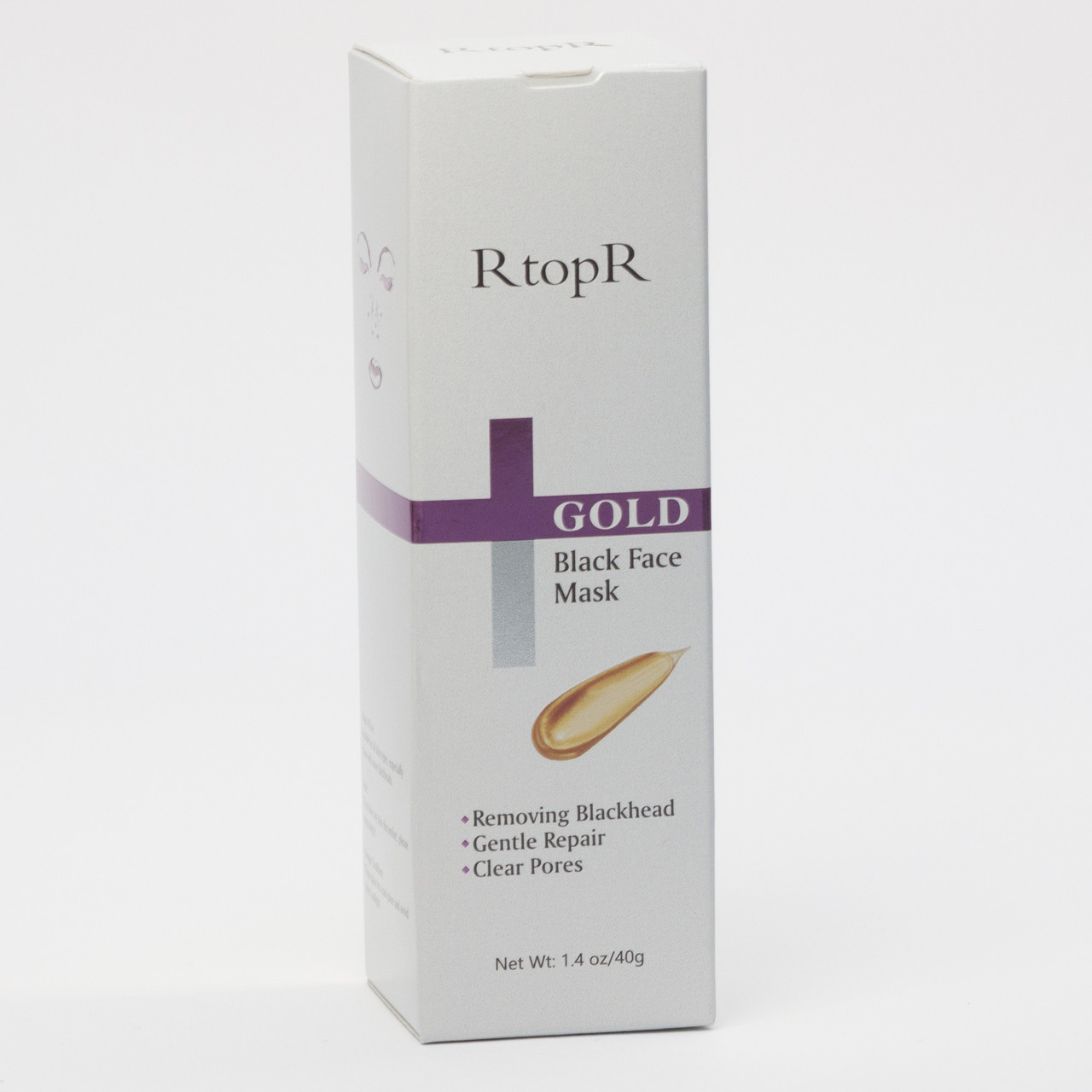 Золотая маска-плёнка для лица Gold Remove Blackhead Mask от RtopR