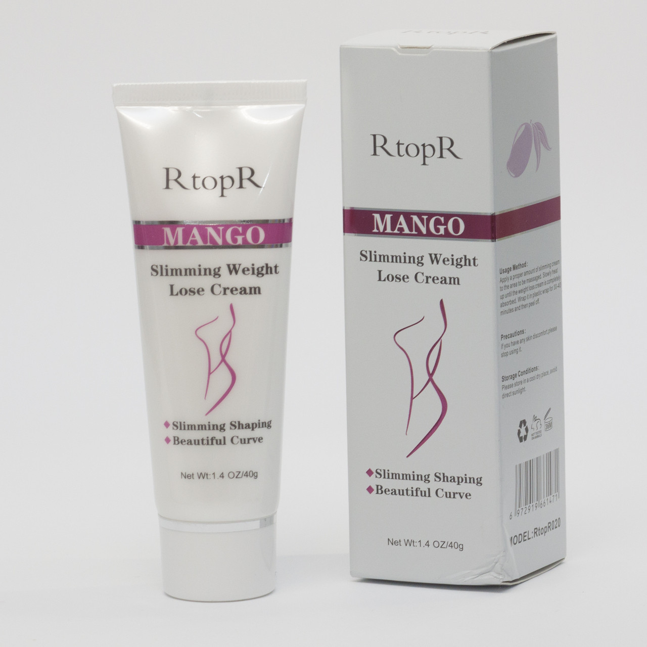 Крем для схуднення та від целюліту з манго RtopR 40 г