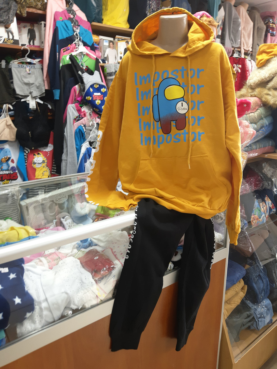 Спортивный костюм для мальчика Амонг Ас р.140 146