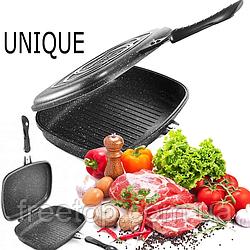 Сковорода-гриль двойная UNIQUE UN-5182 32см